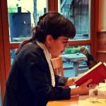 bei der Lesung