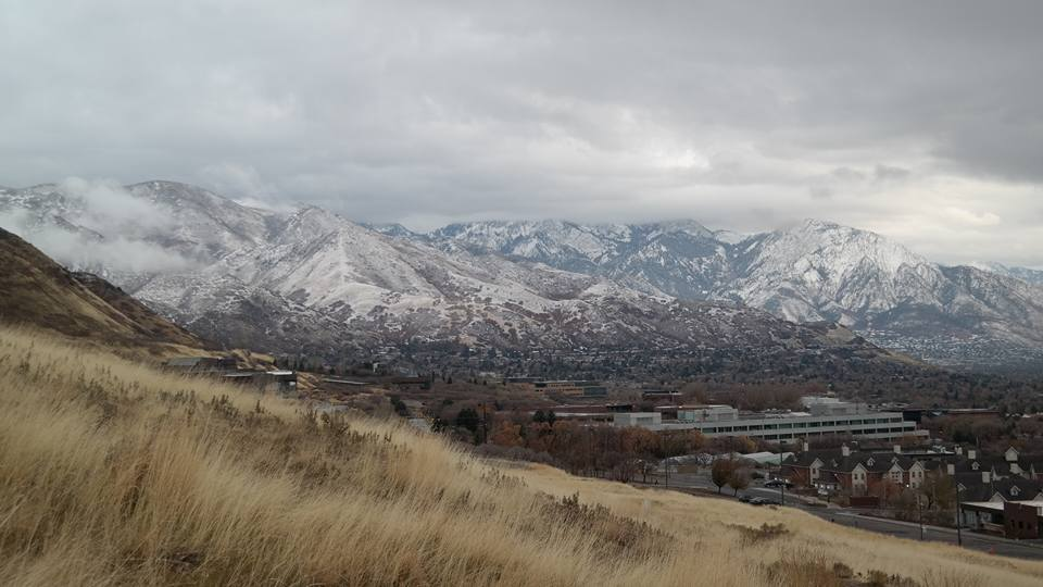 Mountains in SLC