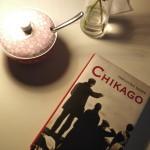 Mein Buch im Café