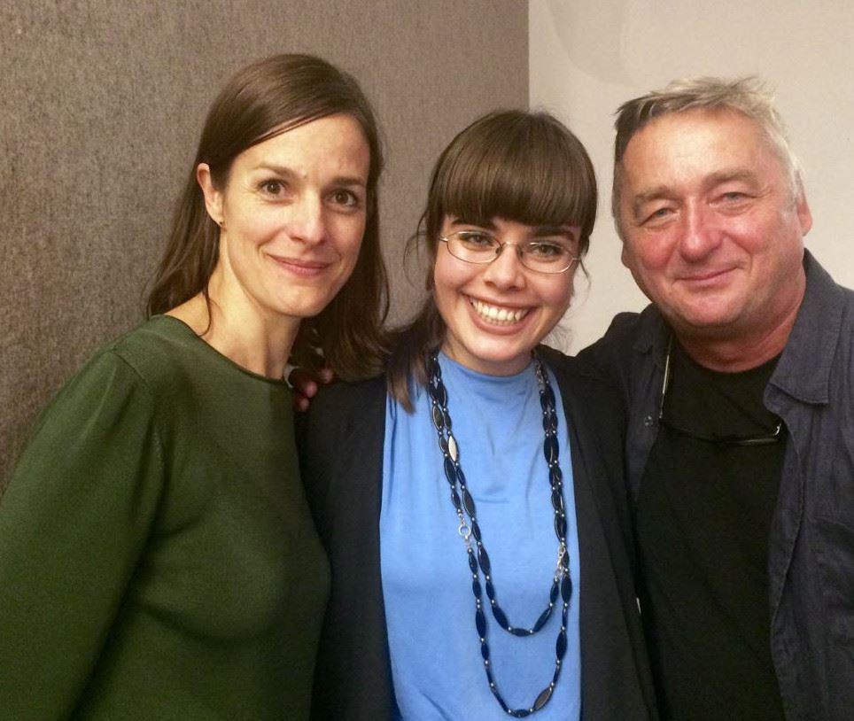 Mit meiner Verlegerin Helen Zellweger und Jurymitglied Andreas Vitasek