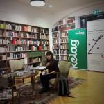 Hust-Lesend in Klagenfurt. Foto: Heimo Strempfl